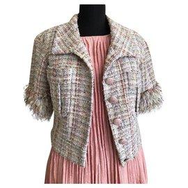 Chanel-Versailles Runway tweed jacket-Multiple colors