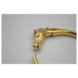 Hermès-Bracelet Hermes Au Galop en vermeil-Doré