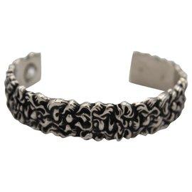 Gucci-Gucci bracelet in silver.-Argenté