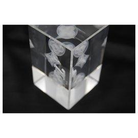 Louis Vuitton-Louis Vuitton paperweight in crystal-Blanc