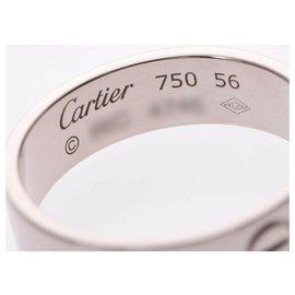 Cartier-Bague d'amour Cartier #53-Argenté
