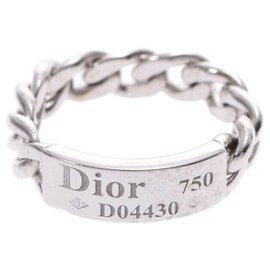 Dior-Bague DIOR-Argenté