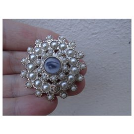 Chanel-Pins & brooches-Silvery