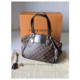 Louis Vuitton-New Louis Vuitton EVORA bag-Dark brown