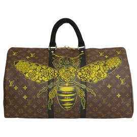 Louis Vuitton-LV Philip Karto keepall-Brown