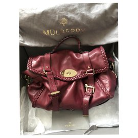 Mulberry-Alexa oversized limited edition-Dark red