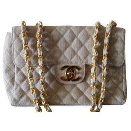Chanel-Wallets-Beige
