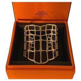 Hermès-Manchette Hermes Large Niloticulus-Doré