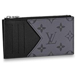 Louis Vuitton-LV Eclipse reverse card holder-Grey