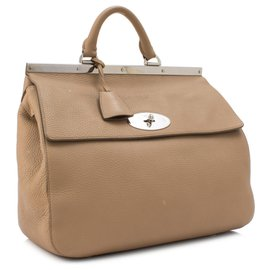 Mulberry-Mulberry Brown Small Suffolk Leather Satchel-Brown,Light brown
