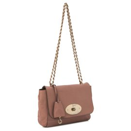 Mulberry-Mulberry Pink Lily Leather Crossbody Bag-Pink