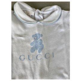Gucci-Tenues-Blanc,Bleu