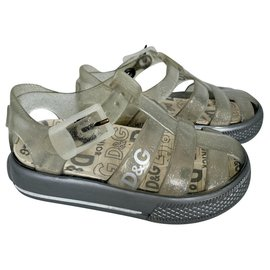 D&G-Kids Sandals-Grey