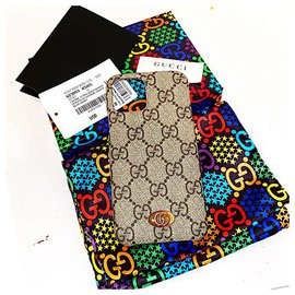 Gucci-GG Supreme Ophidia IPhone 11 Pro Case-Beige