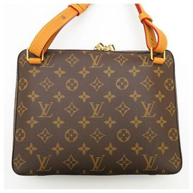 Louis Vuitton-Sold Out Brand New  Monogram Soft Trunk Messenger PM Crossbody Bag-Brown