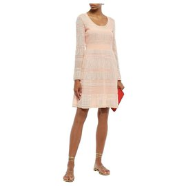 M Missoni-Dresses-Peach