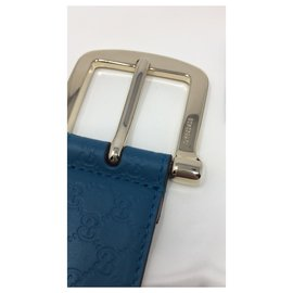 Gucci-GUCCI BELT BRAND NEW TEAL COLOR-Blue