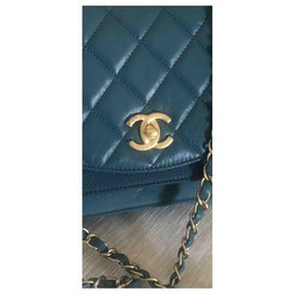 Chanel-Chanel crossbody sac vert neuf-Green