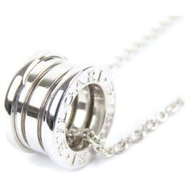 Bulgari-Bvlgari Silver B.Zéro1 collier pendentif-Argenté