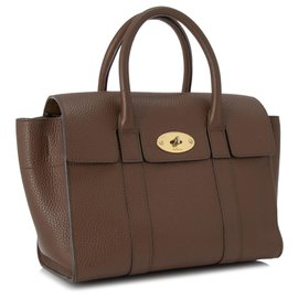 Mulberry-Mulberry Brown Small New Bayswater Leather Satchel-Brown,Dark brown