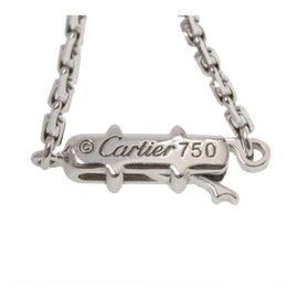 Cartier-Collier chaîne esclave en argent Cartier-Argenté