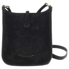 Hermès-Hermes Black Evelyne TPM-Noir