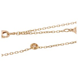 Cartier-Collier Cartier Gold Diamants Legers-Doré