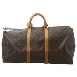 Louis Vuitton-Louis Vuitton Keepall 60-Marron