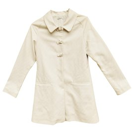 Chloé-summer coat Chloé t 36-White