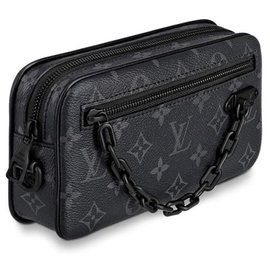 Louis Vuitton-Volga pochette LV-Grey