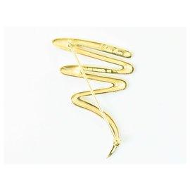Tiffany & Co-TIFFANY & CO. Brooch-Golden