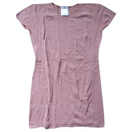 Chanel-Lingerie top, taille 38.-Pink