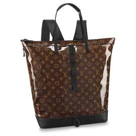 Louis Vuitton-LV zipped tote new-Brown