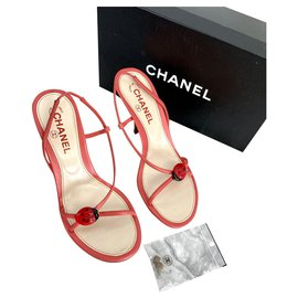 Chanel-New Chanel Sandals 38,5-Pink
