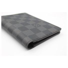 Louis Vuitton-Louis Vuitton Joseph wallet in damier graphite.-Grey,Dark grey