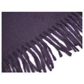 Hermès-Hermès scarf-Purple