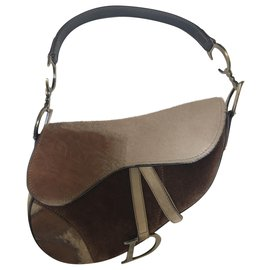 Dior-Saddle-Marron clair