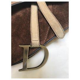 Dior-Sattel-Hellbraun