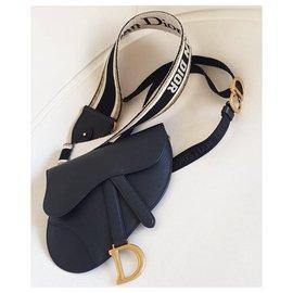 Dior-Sac Dior Saddle-Noir