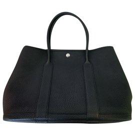 Hermès-Garden Party Bag-Black