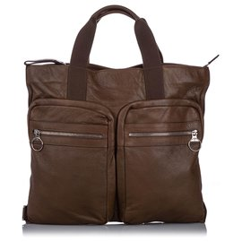 Mulberry-Mulberry Brown Leather Tote Bag-Brown