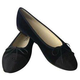 Chanel-CAHNEL BALLERINE NUOVE-Black
