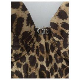 Dior-Maillots de bain-Imprimé léopard
