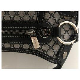 Céline-Handbags-Black,Grey
