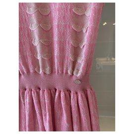 Chanel-Robe Chanel-Rose