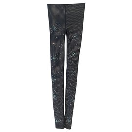 Chanel-Leggings Chanel-Noir