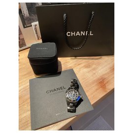 Chanel-Chanel J watch12-Black