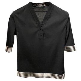Chanel-Top Chanel-Noir