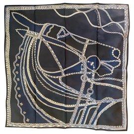Hermès-Robe Du Soir-Blue