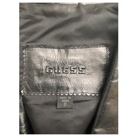 Guess-Jackets-Black
